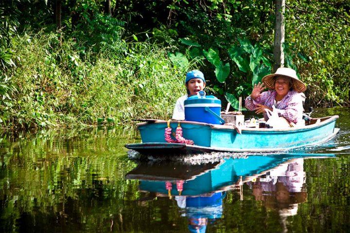 Bangkok Tour - Canal boat ride