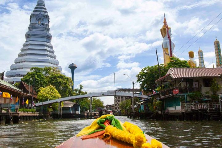 Bangkok Tour - Sunset on the water