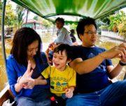 Bangkok Tour - Family Boat Trips Sunset