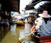 Bangkok Tour - Floating market boat trip