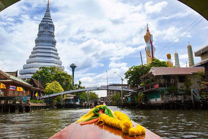 Bangkok Tour - Sunset on the water - Feat
