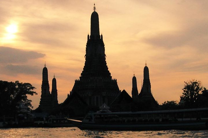 Bangkok Tour - Long-Tail Night Cap River Cruise - Feat